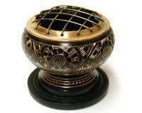 Brass Screen Burner with Coaster