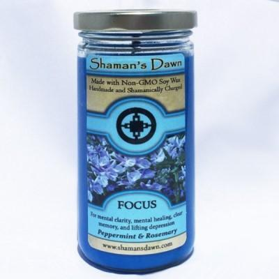 Shaman's Dawn Focus Glass Jar Candle