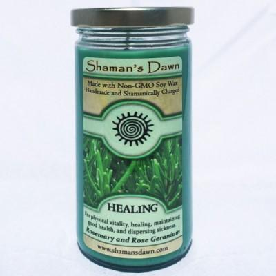 Shaman's Dawn Healing Glass Jar Candle