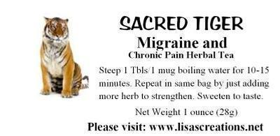 Migraine and Chronic Headache Herbal Tea Remedy